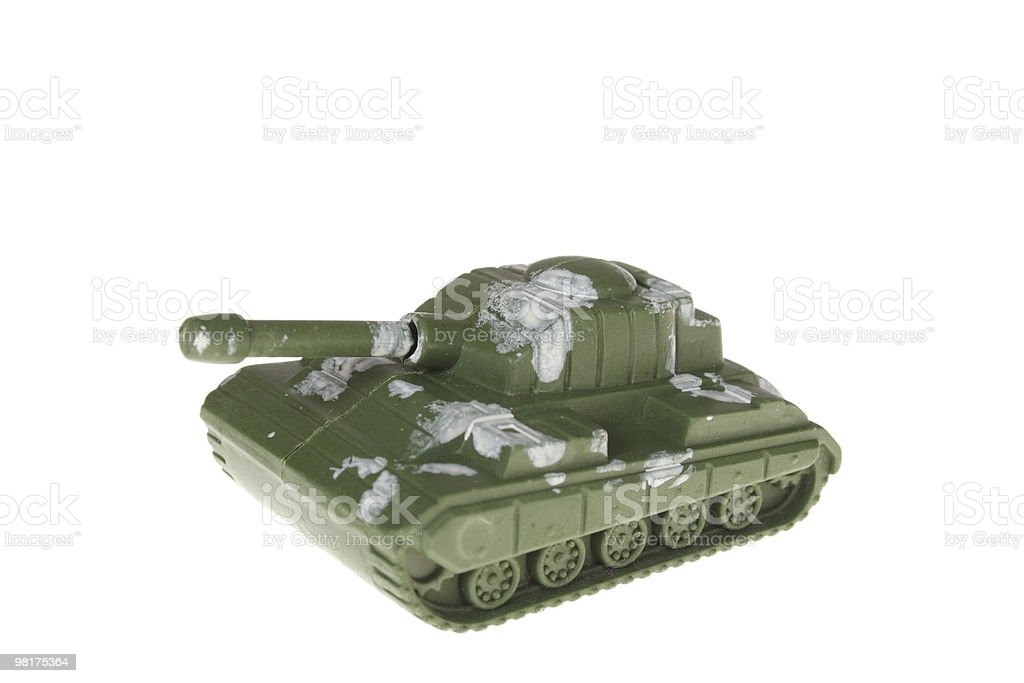 toy tank royalty-free stock photo