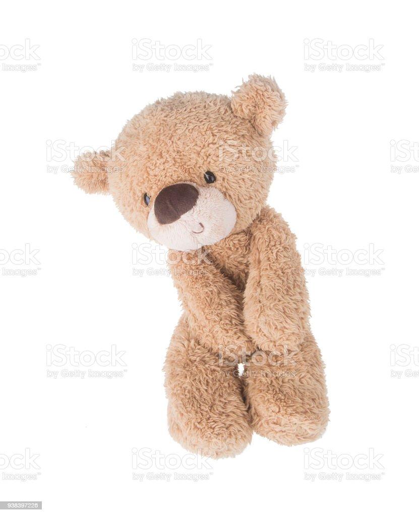 Toy. Teddy Bear. Teddy Bear on the background. stock photo