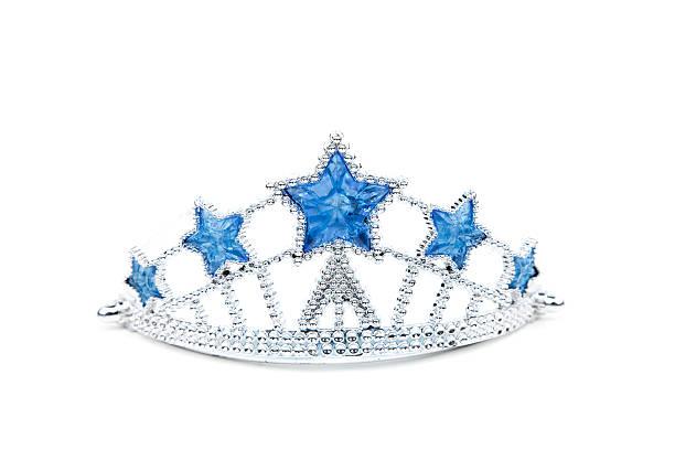 spielzeug-tiara - prinzessin tiara stock-fotos und bilder