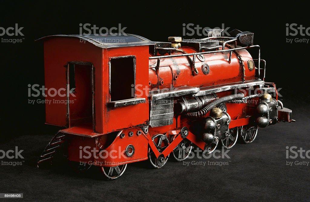 Toy Train royalty free stockfoto