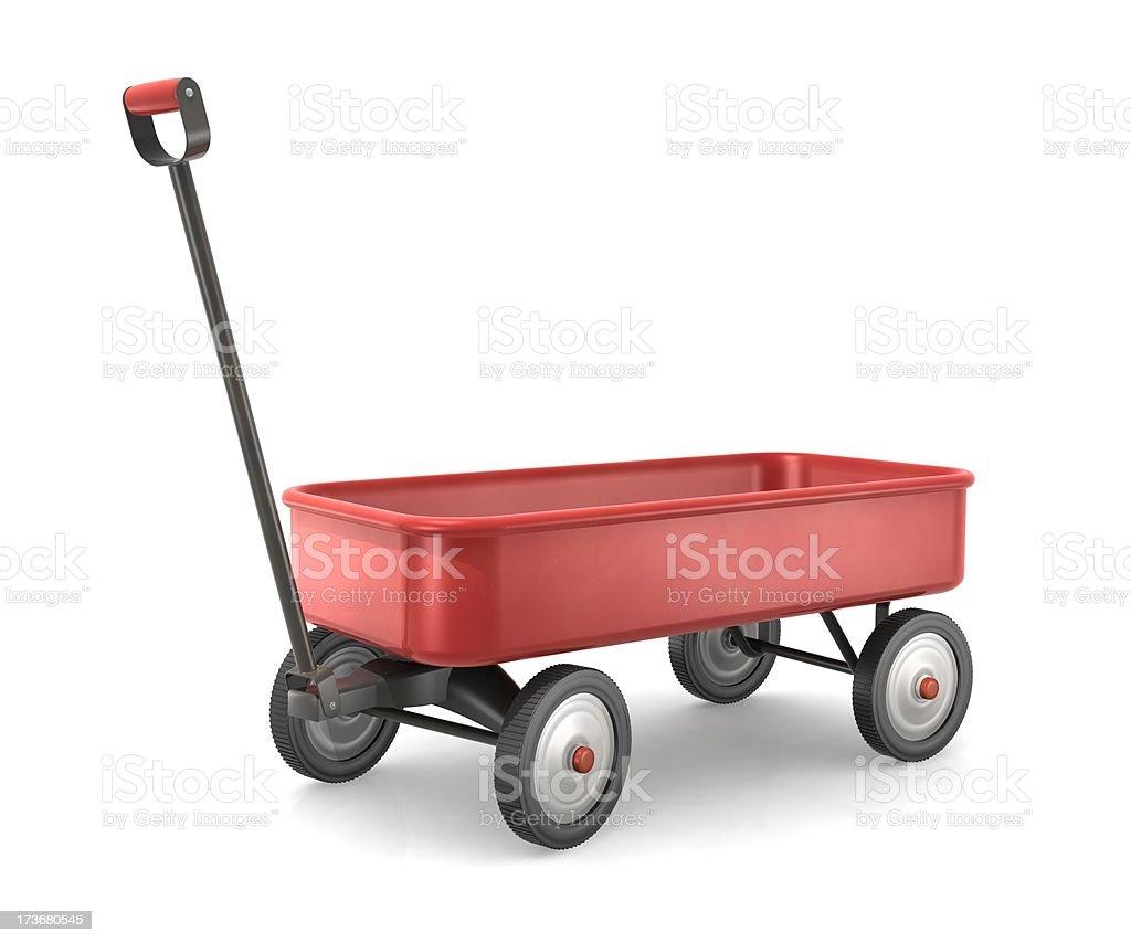 Toy Wagon royalty-free stock photo