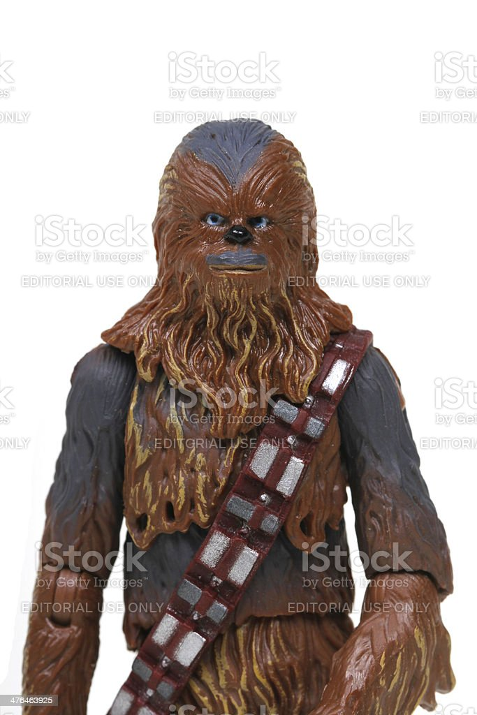 Toy Wookiee royalty-free stock photo