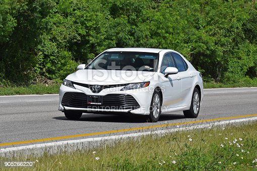 istock Toyota Camry in motion 905266220