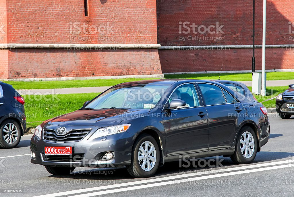 Toyota Camry stock photo