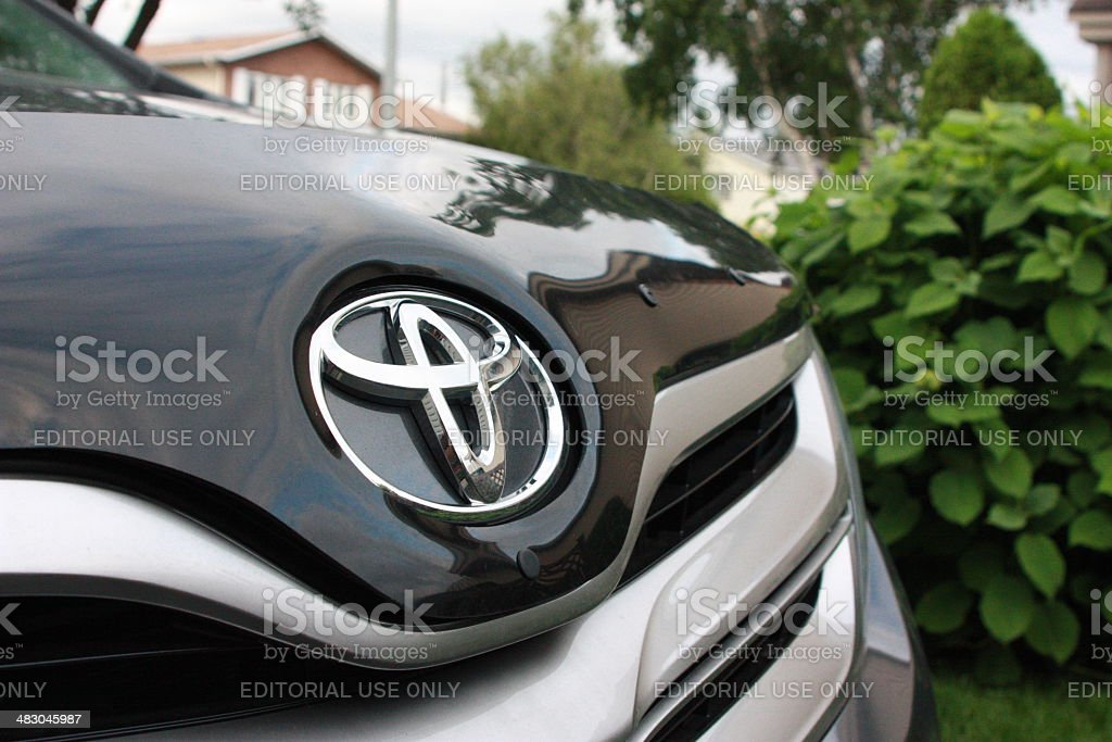Toyota Car Logo stock photo
