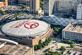 Toyota Center Aerial