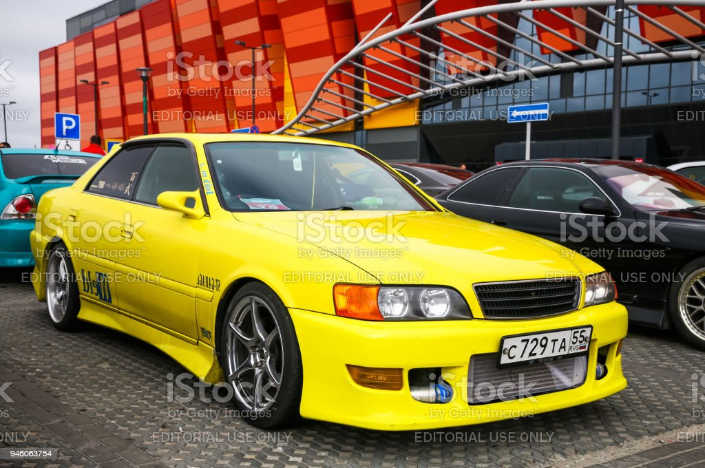 Toyota Chaser stock photo
