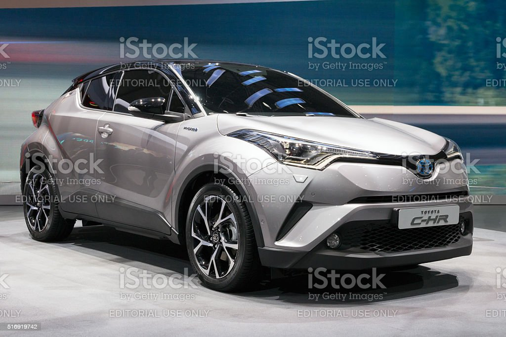 Toyota C-HR stock photo