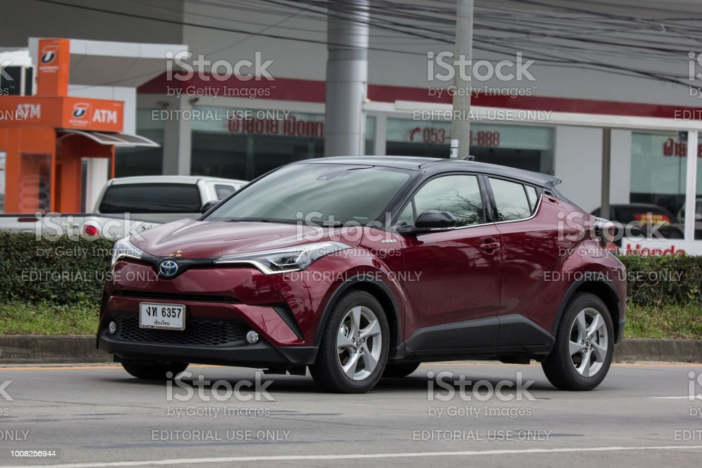 Toyota Chr Subcompact Crossover Suv Hybrid Car Stock Photo Download Image Now