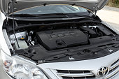 istock Toyota Corolla, under the hood 1029458396