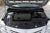 istock Toyota Corolla, under the hood 1029460824