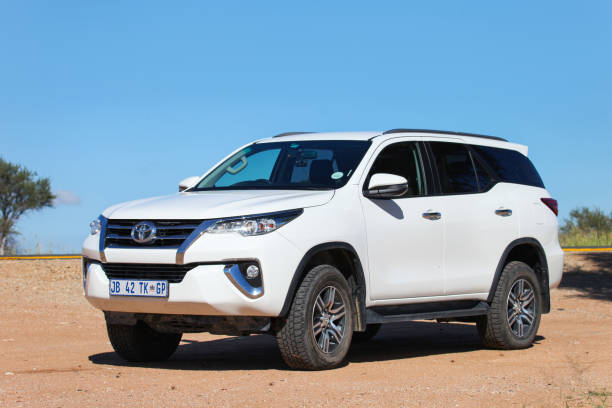Toyota Fortuner stock photo