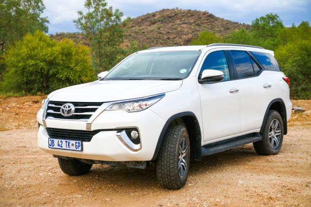 Toyota Fortuner stock photo