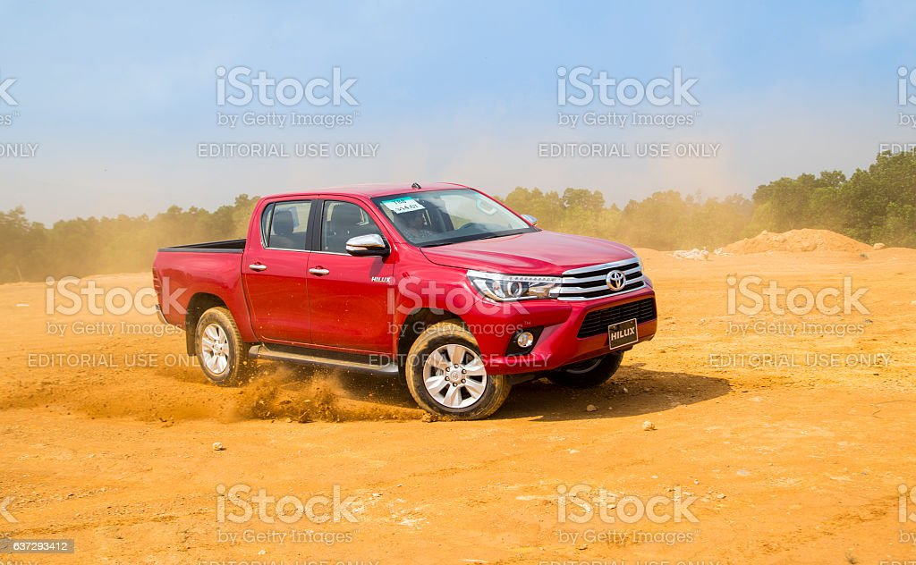Toyota Hilux 2016 all new car stock photo