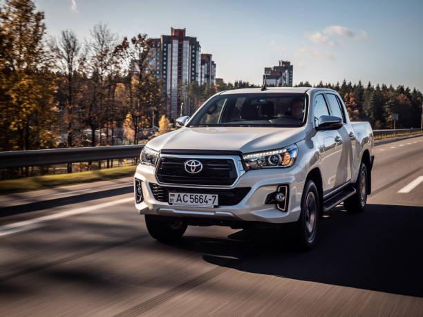 Toyota Hilux Exclusive stock photo