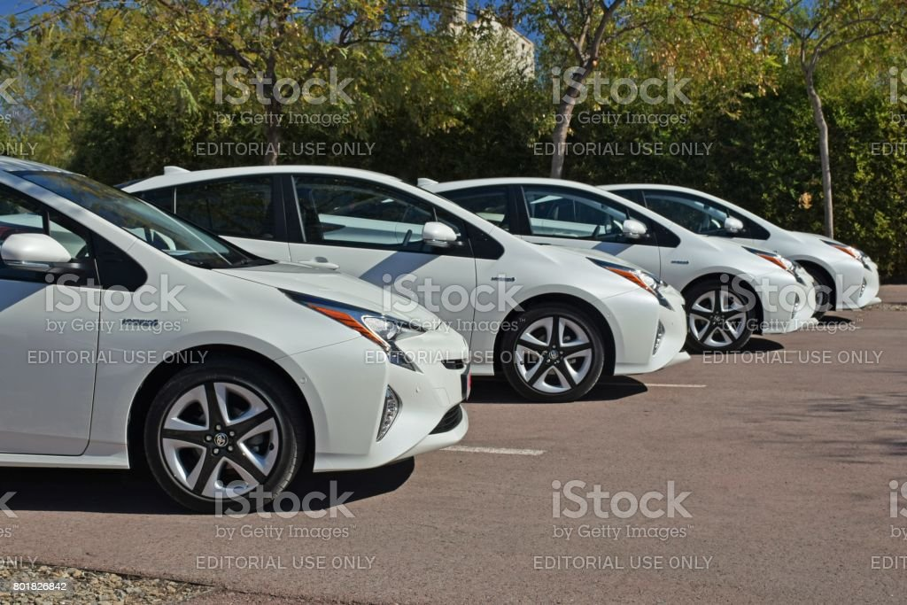 Toyota Hybrid Cars >> Toyota Hybrid Cars Stock Photo Download Image Now Istock