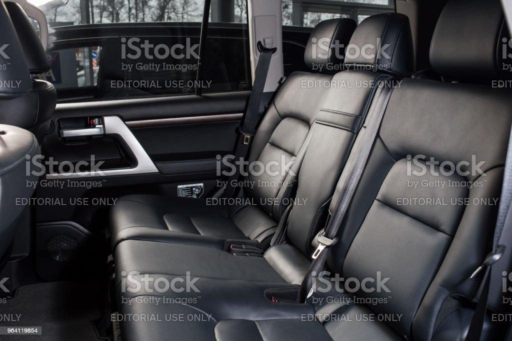 Foto De Toyota Land Cruiser Conceptcar Interior Dentro E Mais Fotos De Stock De 4x4 Istock