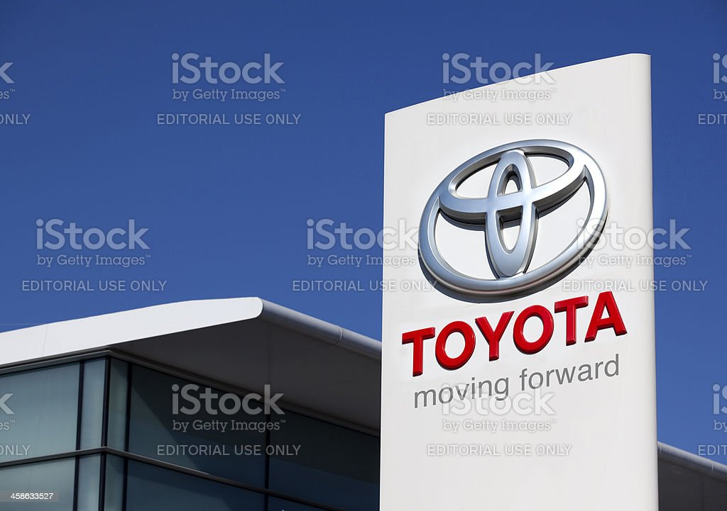 Toyota Motors stock photo