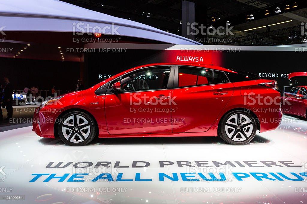2016 Toyota Prius stock photo