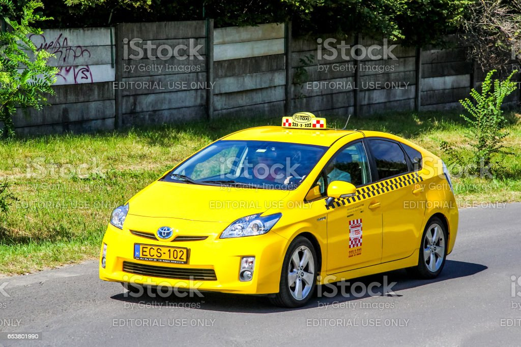 Toyota Prius stock photo