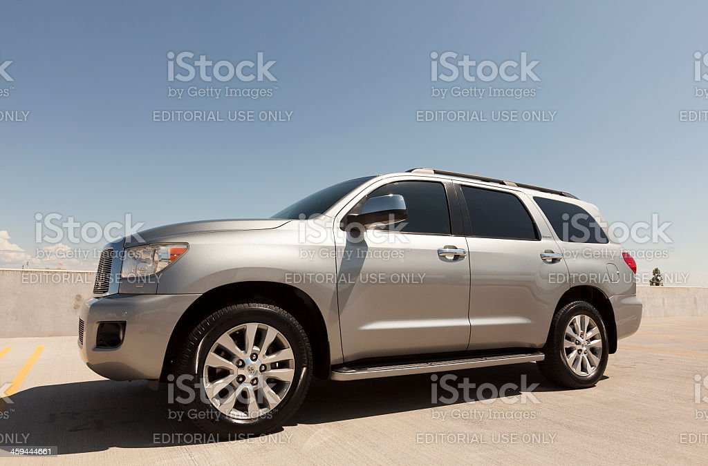 Toyota Sequoia stock photo