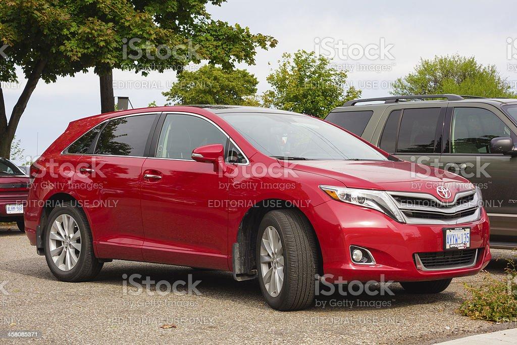 Toyota Venza royalty-free stock photo