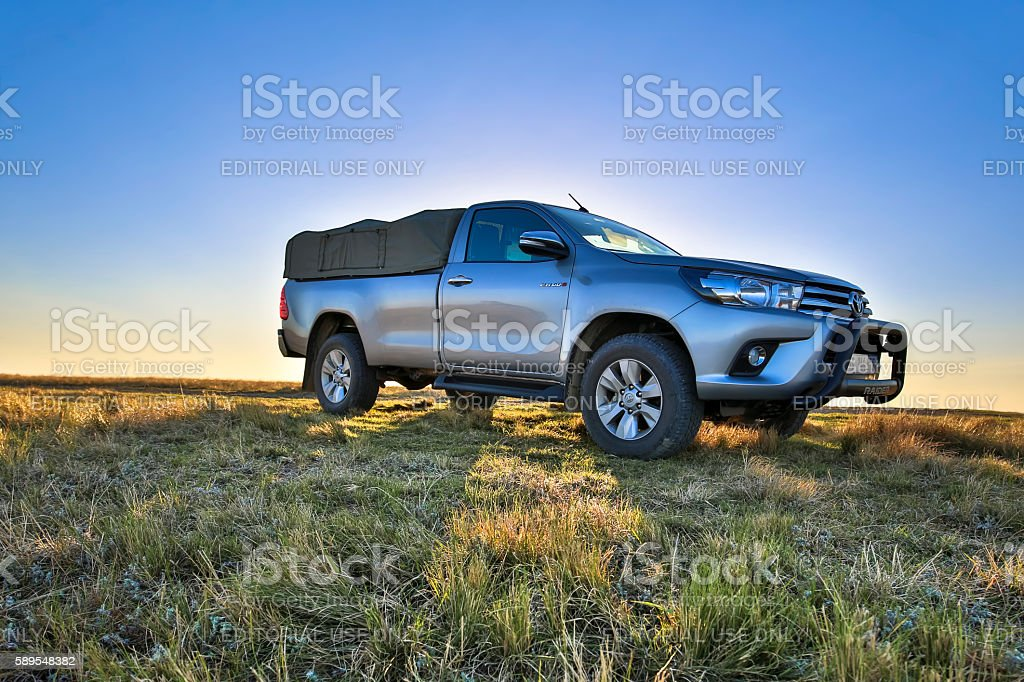 Toyotas Hilux W10 stock photo