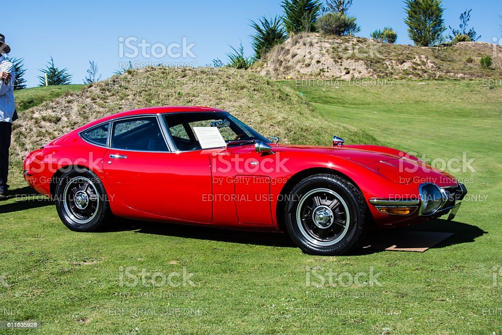 Toyotoa 2000 GT stock photo