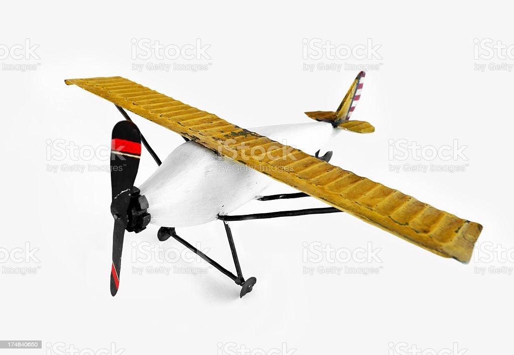 Toys airplane royalty-free stock photo