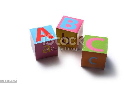 istock Toys: Alphabet Blocks ABC 172413440