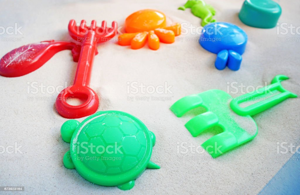 toys for sandbox foto de stock royalty-free