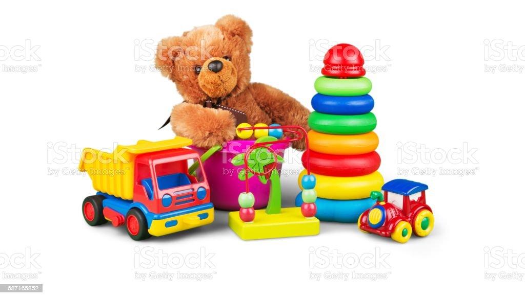 Toys. stock photo