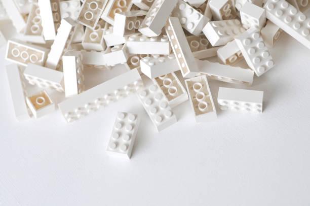 Jouets briques de construction jouet electric train stock pictures, royalty-free photos & images