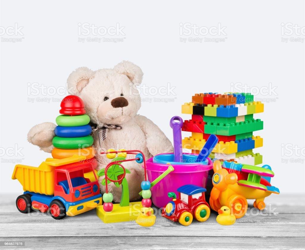 Toys. royalty-free stock photo