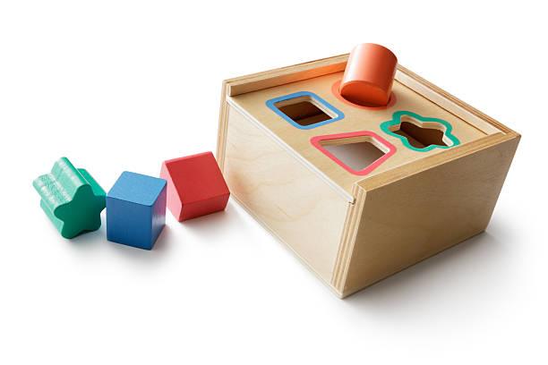 Juguetes: Forma de rompecabezas - foto de stock