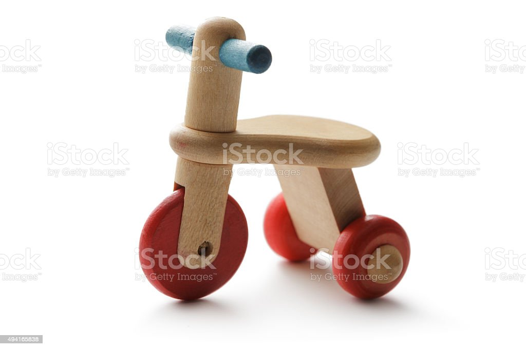 Toys: Tricycle stock photo