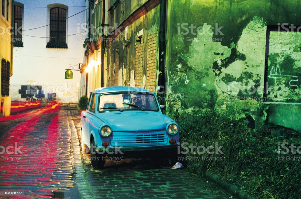 Trabant in Krakow royalty-free stock photo
