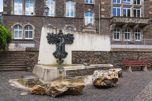 Traben-Trarbach Dr. Ernst Willen Spies fountain