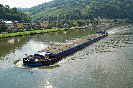 Traben-Trarbach on Mosel River (Germany)