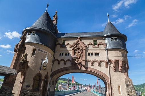 Traben-Trarbach on the Moselle Bridge