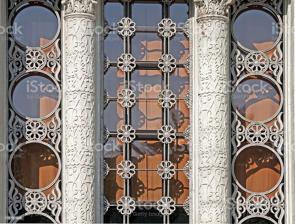 tracery window royalty-free stock photo