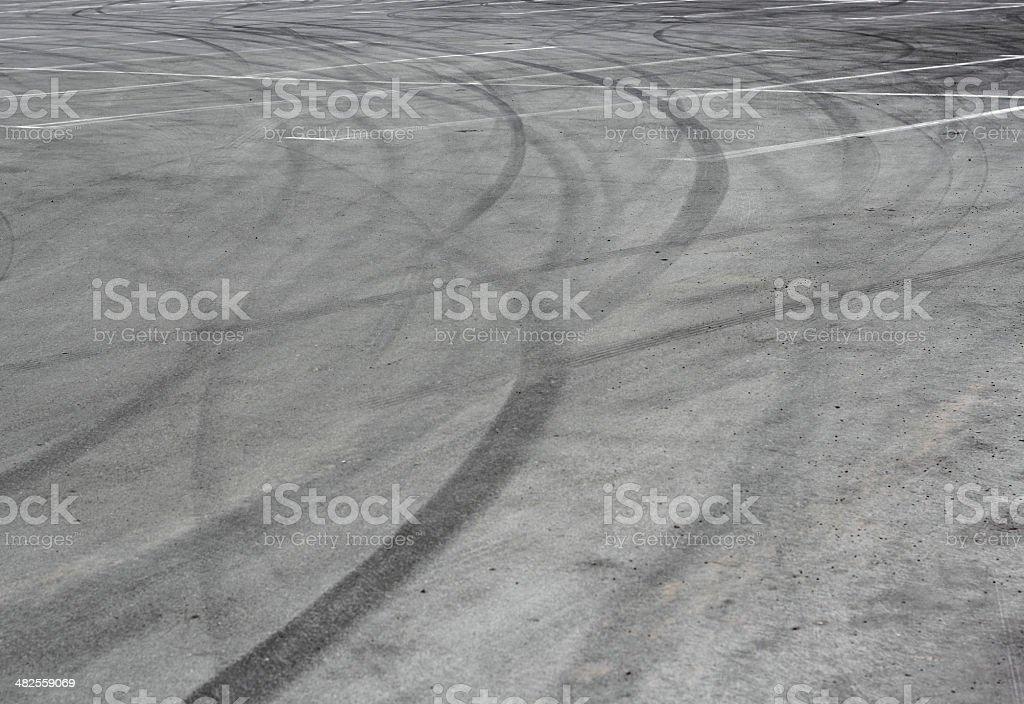 Spuren o asphalt – Foto