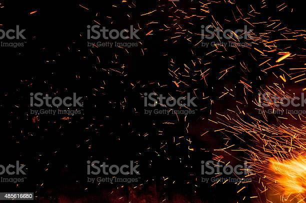 Photo of Traces of fire sparks