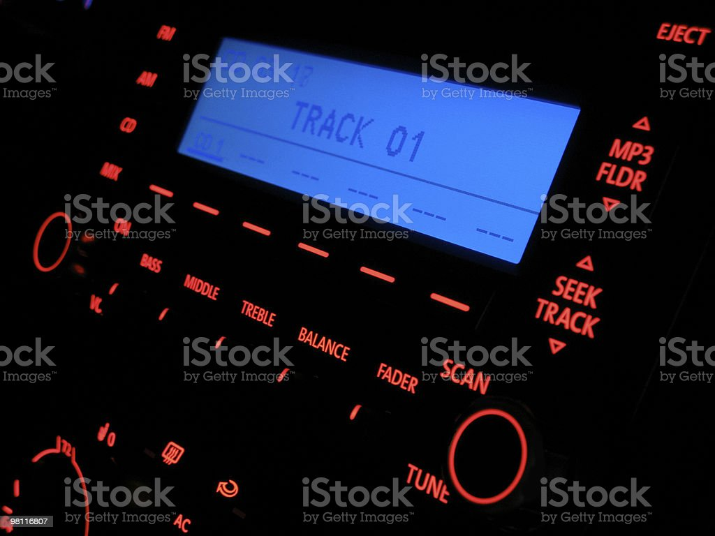 Track 01 royalty-free stock photo