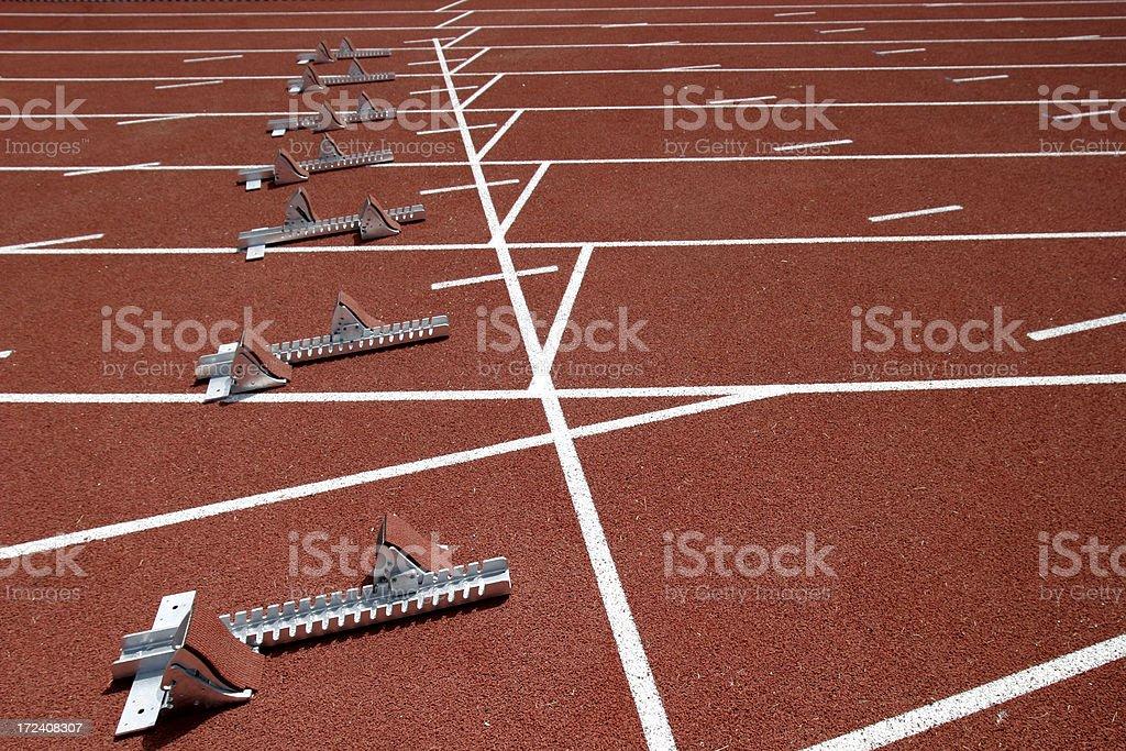 Track & Field stock photo