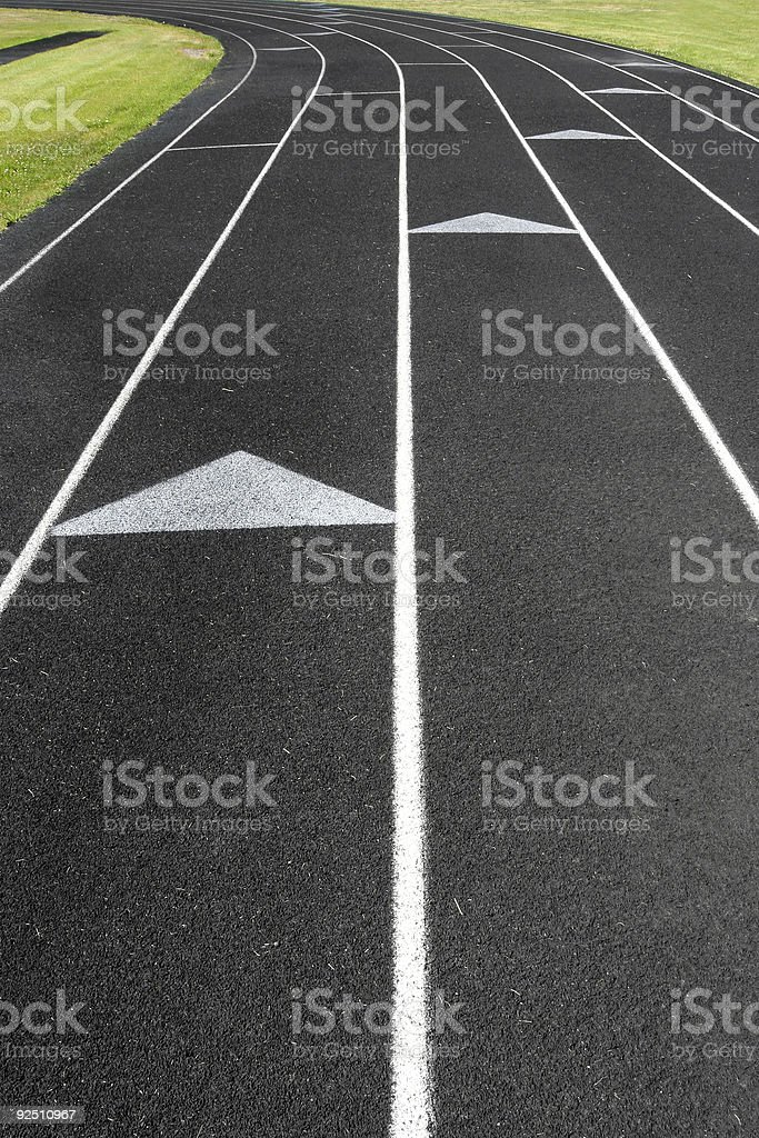 track and field abstract royalty-free stock photo