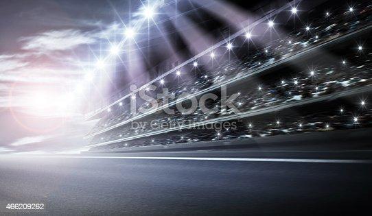 istock Track arena 466209262