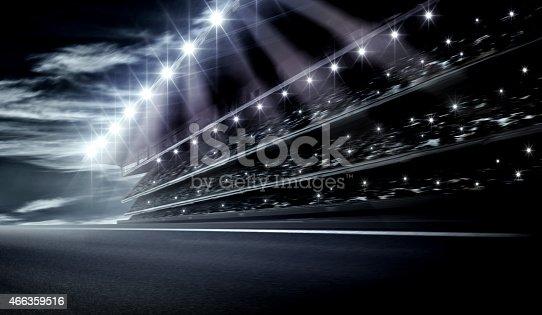 istock Track arena 466359516