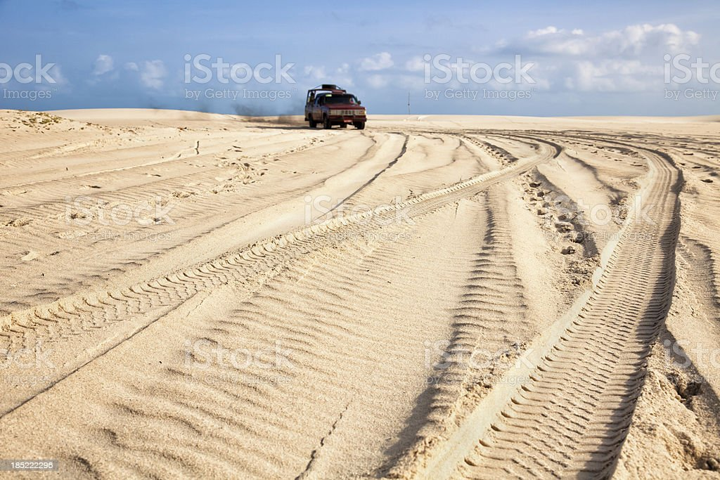 Track dune backgrounds royalty-free stock photo