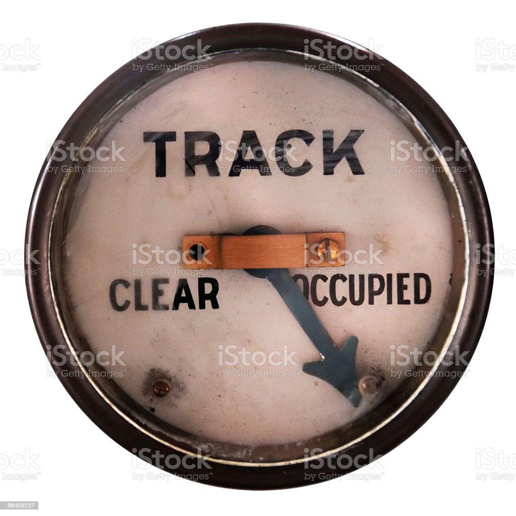 Track Indicator royalty-free stock photo